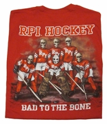 BMOC Hockey Tee Shirt - Bad to the Bone