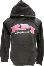 CI Sport Ladies Hood with Pink RPI Engineers