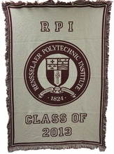Class Year Throw Blanket 2015 - 2018