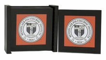 Coasters with School Seal