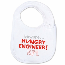 College Kids Bib with Hungry Engineer