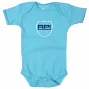 College Kids Infant Boys Bodysuit with RPI Engineers Shield