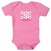 College Kids Infant Girls Bodysuit with RPI