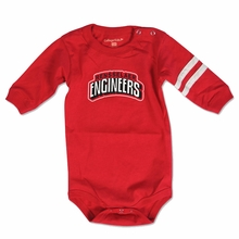 College Kids Long Sleeved Infant Bodysuit with Rensselaer Engineers