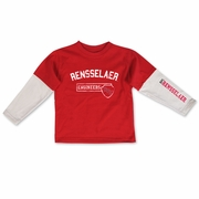College Kids Toddler Layered Tee with Rensselaer