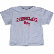 College Kids Toddler Oxford Tee with Rensselaer and RPI