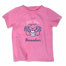 College Kids Toddler Tee Shirt with Pink Bear