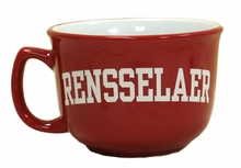 Collegiate Soup Bowl with Rensselaer