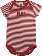 Creative Knitwear Infant Striped Bodysuit with RPI