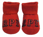 Creative Knitwear Newborn Booties with RPI
