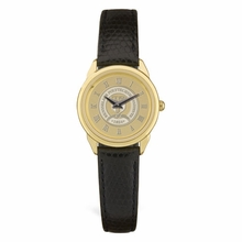 CSI Ladies Black Leather Strap Wristwatch