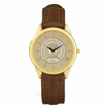 CSI Men's Brown Leather Strap Wristwatch