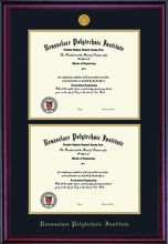 Diploma Frame - Classic  Double Opening Frame