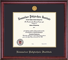 Diploma Frame - Classic with School Seal Medallion
