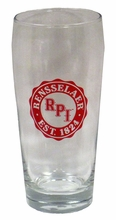 Dockside Pub Glass with Rensselaer Est. 1824