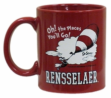 "Dr. Seuss ""Oh The Places You'll Go!"" Mug"