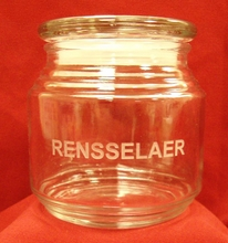 Glass Candy Jar with Rensselaer