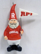 Gnome Ornament with Rensselaer