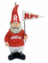 Gnome Ornament with RPI Pennant