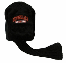 Golf Club Head Cover with Rensselaer Patch