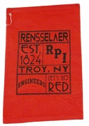 Golf Towel with Rensselaer