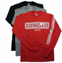 Jansport Long Sleeve Tee with Rensselaer Polytechnic