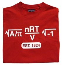 Jansport Tee with Math Formula Est. 1824