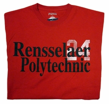 Jansport Tee with Rensselaer Polytechnic 24