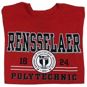 Jansport Tee with Rensselaer Polytechnic and Seal