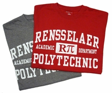 Jansport Tee with Rensselaer RPi Academic Department
