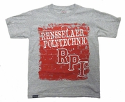 Jansport Youth Tee with Brick Wall Rensselaer Polytecnic
