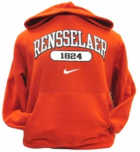 Nike Classic Hooded Fleece with Rensselaer 1824