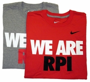 Nike Classic Tee with We Are RPI
