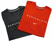 Nike Dri-Fit Tee with 100% Rensselaer