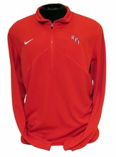 Nike DriFIT 1/4 Zip Training Jacket with Embroidered RPI Old Style