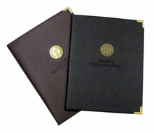 Pad Folio with Seal and Embossed Rensselaer Polytechnic Institute