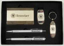 Personal Set with Engraved Rensselaer