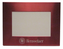 "Picture Frame 4"" x 6"" with Engraved Rensselaer"