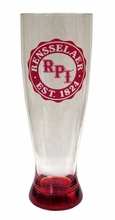 Pilsner Glass with RPI and Rensselaer Est. 1824