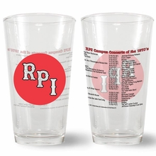 Pint Glass - RPI Campus Concerts of the 1970's