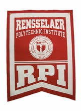 Rensselaer Banner with Seal and RPI