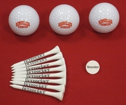 Rensselaer Golf Balls and Tee Set
