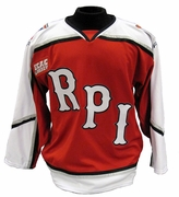 Rensselaer Men's Oldstyle Away Hockey Jersey