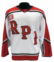 Rensselaer Men's Oldstyle Home Hockey Jersey