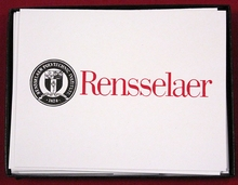 Rensselaer Note Cards and Envelopes
