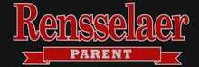 Rensselaer Parent Banner Inside Decal