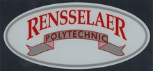 Rensselaer Polytechnic Oval Inside Decal