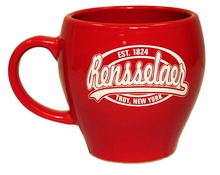 Roma Mug with Est. 1824 Rensselaer Troy, New York