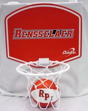 RPI Basketball and Hoop