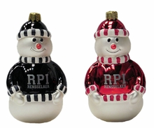 RPI Snowman Ornament
